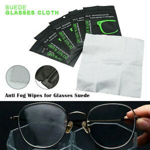 1/5Pcs Reusable Anti-Fog Wipes Glasses Pre-moistened Lens Cloths Defogger