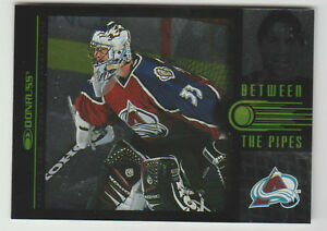 "PATRICK ROY Avalanche 1997-98 Donruss ""Between The Pipes"" #1 #0082/3500 RARE $30"