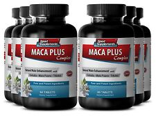 Stinging Nettle Seeds - Maca Plus Complex 1275mg - Prostate Tablets 6B
