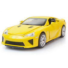 6 inch Lexus LFA 1:32 Alloy Diecast Model Car Toy Gift Sound & Light Yellow