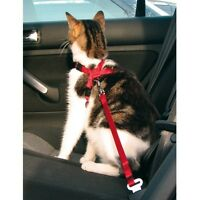 Trixie Cat Car Harness and lead, seat belt travel safety restraint,(1294)