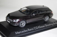 Mercedes CLS Shooting Brake 2012 braun metallic 1:43 Norev neu + OVP 351310