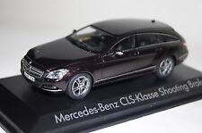 Mercedes cls Shooting Brake 2012 marrón metalizado 1:43 norev nuevo + embalaje orig. 351310