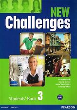 Pearson NEW CHALLENGES 3 Students Book Coursebook Level A2-B1 @BRAND NEW@