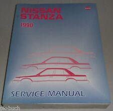 Werkstatthandbuch / Service Manual Nissan Stanza (Bluebird, Pintara) U12, 1990