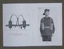 37 Pattern Web Equipment - Manual Booklet 1941 Ww2