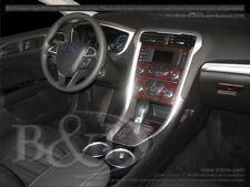 FORD FUSION WOOD GRAIN DASH KIT.  WITHOUT FACTORY TOUCH SCREEN RADIO 2013-2015