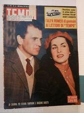 TEMPO 24 gennaio 1953 Pampanini Girotti Bartali Anastasia mafia Manicomio Tito