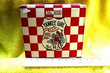 ANTIQUE/VINTAGE SCRAP TOBACCO CHEW & SMOKE YANKEE GIRL 20 CENT BOX +LOW/FAST S/H