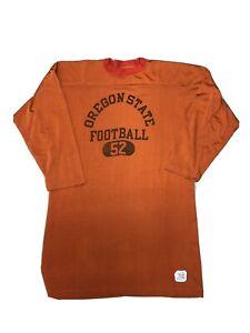 Oregon State University football game jersey by Champion size 52 vintage 70s