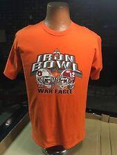 Iron Bowl Orange T-Shirt Size Med Auburn War Eagle  - Gildan Active Wear