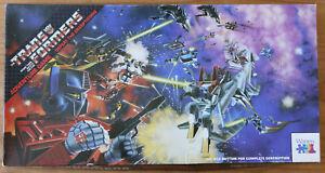 Transformers Adventure Game - Defeat Decepticons - Vintage - Hasbro/Warren 1984
