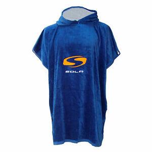 Sola Changing Robe Towel Full Length Wetsuit Watersports Beach Poncho Surf kayak
