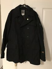 G-star Double Breasted Coat Size Xl.(18a)