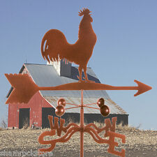 Traditional Classic Barn Rooster Weathervane with Roof Mount - Chicken - Vane