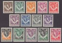 NORTHERN RHODESIA 61 - 74  SET OF 14  MINT HINGED OG * NO FAULTS VERY FINE ! -