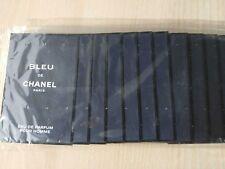 12 VIALES/ SAMPLES / MUESTRAS BLEU DE CHANEL EAU DE PARFUM 2 ML TOTAL 24 ML