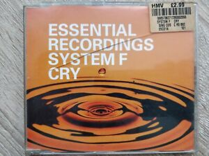 ID5937z - System F - Cry - ESCD14 - CD - uk