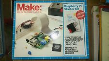 Make: Raspberry Pi Starter Kit  includes hands-on book and Pi case NEW IN BOX