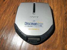 Sony Cd Discman Walkman Model D-E301 Esp Protection Mega Bass Heat resistant lid