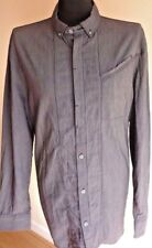 FFP Fit For Purpose Mens Long Sleeve Stripe Shirt Size XL