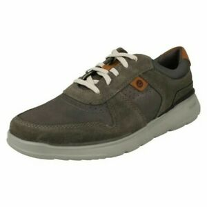 Mens Clarks Lace Up Tac System Insole Casual Shoes 'Gaskill Vibe'