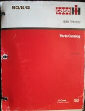 Case Ih Parts Book Catalogue Manual 585 Tractor Factory Original Oem 1989