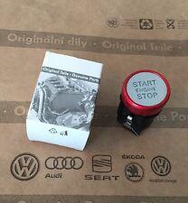 Original Audi Start Stopp Schalter A4 S4 RS4 A5 S5 RS5 Q5 Rot Chrom Rot Start