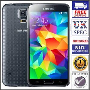Samsung Galaxy S5 SM-G900F - 16GB - Black (Unlocked) Smartphone - Grade A