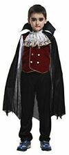 NWOT VAMPIRE DRACULA CAPE KIDS UNISEX HALLOWEEN COSTUME BY DISGUISE - Size 1