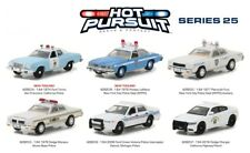 Greenlight 1/64 Hot Pursuit Police Cars Series 25 CHP NYPD Detroit IL Set of 6