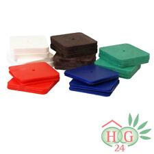 250 Kunststoff Unterlegplatten 70x70 Auswahl Ausgleichsplatten Niveauausgleich