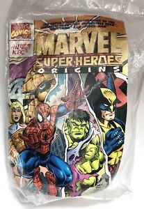 Vintage KFC Kids Meal Marvel Comics Super Heroes Fantastic Four Terra Craft 1997