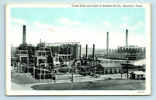 Baytown, TEXAS - HUMBLE OIL CO CRUDE STILLS & COILS - POSTCARD