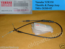 Yamaha TZR250 Throttle & Pump Cable Assy NOS 3MA-26260-02 TZR 250 THROTTLE WIRE