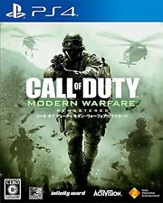Call of Duty  Modern Warfare Remastered SONY PS4 PLAYSTATION 4 JAPANESE VERSION