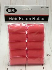 HALSA Hair Foam Rollers 10 Count - New SEALED