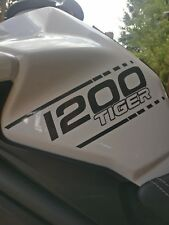 Tank Aufkleber Sticker Decal Triumph Tiger 1200 Explorer anthrazit metallic