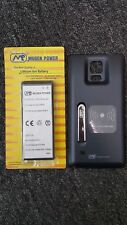 Mugen Power 6640mAh Extended Battery for Samsung Galaxy Note 4 with Battery Door