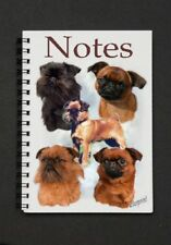 Griffon Dog Notebook/Notepad with a small image on every page - by Starprint