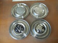 "1953 53 Buick Hubcap Rim Wheel Cover Hub Cap V8 15"" OEM USED SET 4"