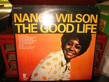 "New listing NANCY WILSON ""The Good Life"" (Pickwick/   SPC3348)  VG+/VG  VINYL RECORD"