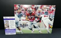 NICK BOSA OHIO STATE BUCKEYES SIGNED 8X10 PHOTO W/ JSA COA
