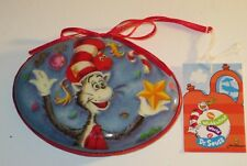 Dr. Seuss Cat In The Hat Decoupage Ornament New With Tags