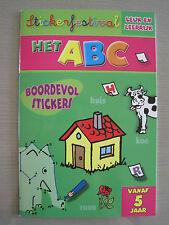 Stickerfestival - Het ABC - Leuk en leerrijk - Flash Collection