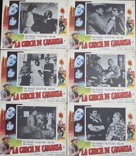 PEDRO ARMENDARIZ La Carcel de Cananea WESTERN LOBBY CARD SET Sonia Furio 1960
