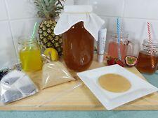 2lt Kombucha Kit, No Tap, Scoby, Starter Tea, Instructions