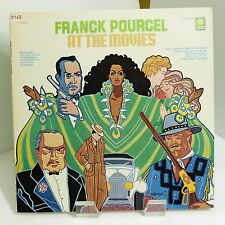 """1978 Franck Pourcel """"At The Movies"""" Peters International PLD 1010 Mint Stereo LP"""