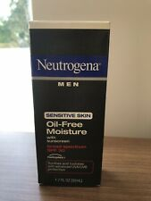 Neutrogena Men Sensitve Skin Oil Free Moisture