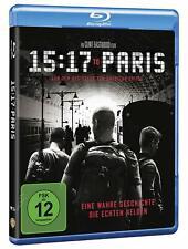 15:17 to Paris [Blu-ray/nuevo/en el embalaje original] clint eastwood cuenta la historia de tres mu